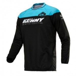 Kenny Kinder Crossshirt Track Black/Blue