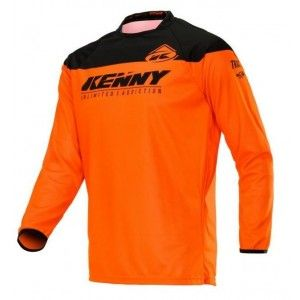 Kenny Kinder Crossshirt Track Neon Orange
