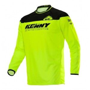 Kenny Kinder Crossshirt Track Neon Yellow