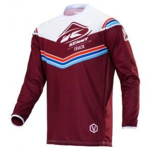 Kenny Track Victory Crossshirt Burgundy Red