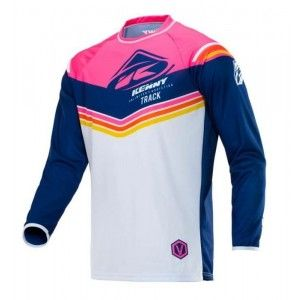 Kenny Track Victory Crossshirt Pink