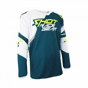 Shot Crossshirt Contact Claw Teal Blue/Neon Yellow