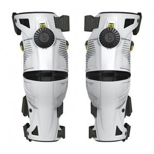 Mobius X8 Knie Brace White/Acid Yellow
