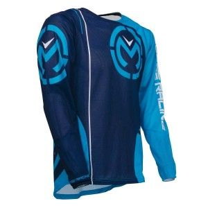 Moose Racing Crossshirt Sahara Blue/Cyan