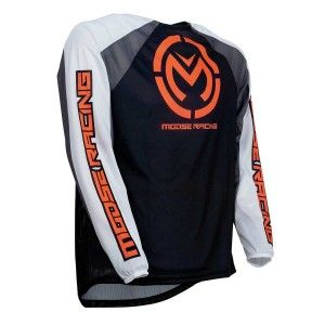 Moose Racing Crossshirt M1 Black/Orange