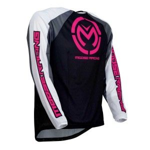 Moose Racing Crossshirt M1 Black/Pink
