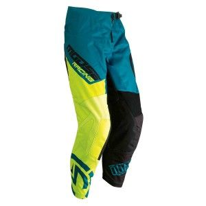 Moose Racing Kinder Crossbroek Qualifier Teal/Hi-Viz