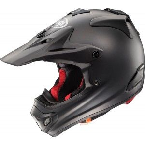 Arai Crosshelm MX-V Frost Black (Mat)