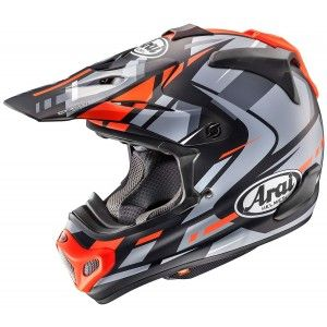 Arai Crosshelm MX-V Justin Bogle Red