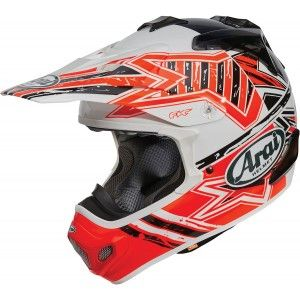Arai Crosshelm MX-V Star Orange