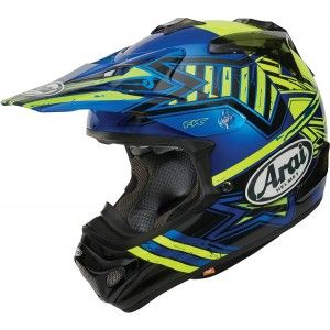 Arai Crosshelm MX-V Star Yellow