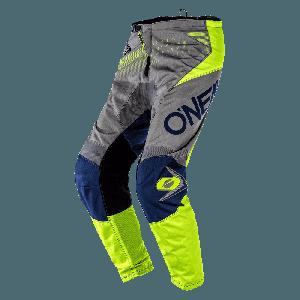 O'Neal Element  Factor Crossbroek Grey/Neon Yellow