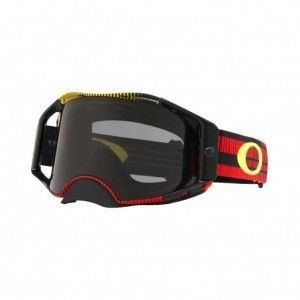Oakley Airbrake Crossbril Frequency Red/Yellow