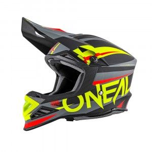 O'Neal Crosshelm 8 Series Agressor Black/Hi-Viz