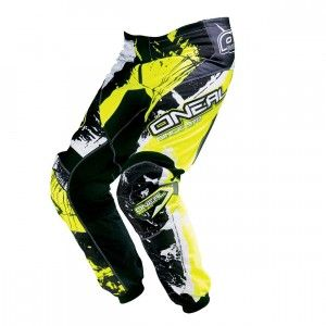O'Neal Element Pants Shocker Black/Neon Yellow