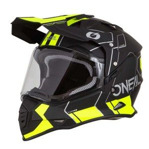 O'neal Crosshelm/Endurohelm Sierra II Comb Black/Neon Yellow