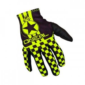 O'Neal Handschoenen Matrix Wingman Black/Neon Yellow