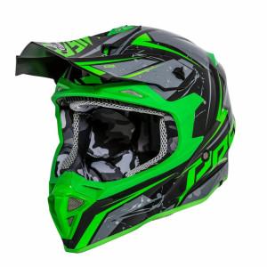 Premier Exige QX7 Crosshelm Green
