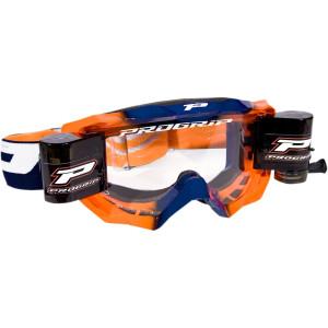 Progrip Crossbril 3200 Venom Roll-Off oranje/blauw