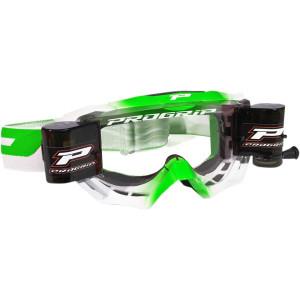 Progrip Crossbril 3200 Venom Roll-Off Wit/Groen