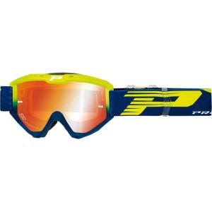 Progrip Crossbril 3450 Riot Mirror Blue/Fluor Yellow
