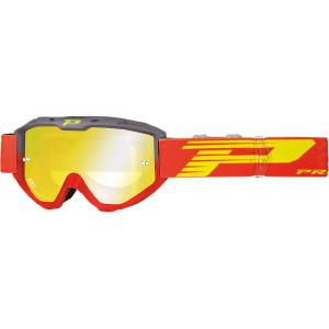 Progrip Crossbril 3450 Riot Mirror Red/Yellow