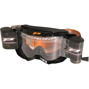 Progrip Vista roll-off XXXL crossbril oranje/zwart