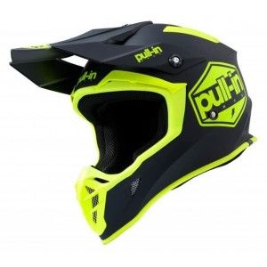Pull-in Crosshelm Solid Neon Yellow