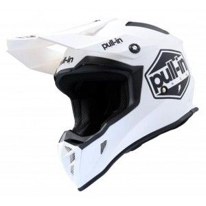 Pull-in Crosshelm Solid White