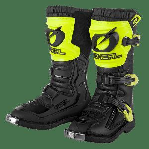 O'Neal Kinder Crosslaarzen Rider Pro Black/Fluor Yellow