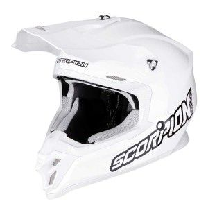 Scorpion Crosshelm VX-16 Solid White