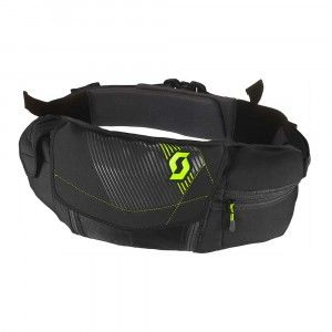 Scott Hip-Belt Six Days Black/Neon Yellow