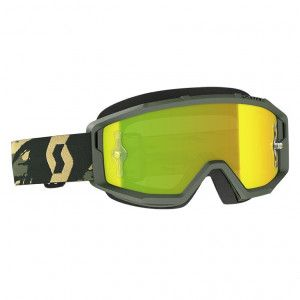Scott Crossbril Primal Camo Kaki Yellow Chrome