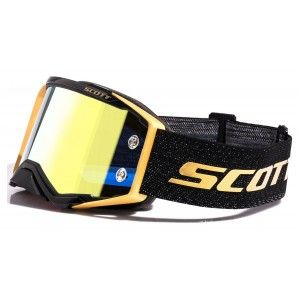Scott Prospect Crossbril Black/Gold Chrome Works LTD