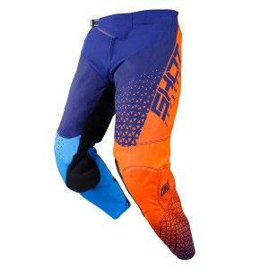 Shot Crossbroek Aerolite Delta Blue/Neon Orange