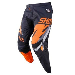 Shot Crossbroek Contact Score Black/Neon Orange