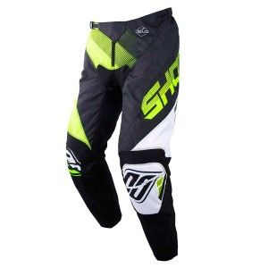 Shot Crossbroek Devo Ultimate Black/Neon Yellow