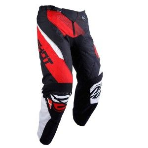 Shot Kinder Crossbroek Devo Ultimate Black/Red
