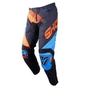 Shot Crossbroek Devo Ultimate Blue/Neon Orange