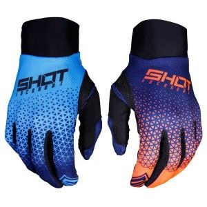 Shot Crosshandschoenen Aerolite Delta Blue/Neon Orange
