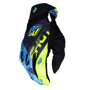 Shot Crosshandschoenen Devo Ultimate Blue/Neon Yellow