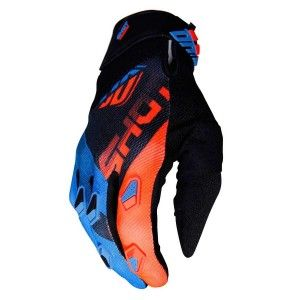 Shot Crosshandschoenen Devo Ultimate Blue/Neon Orange