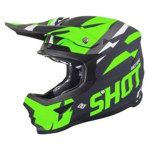 Shot Crosshelm Furious Score Neon Green Matt