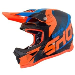 Shot Kinder Crosshelm Furious Ultimate Blue/Neon Orange