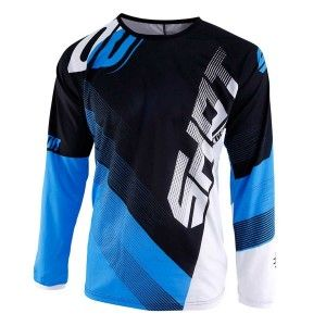 Shot Kinder Crossshirt Devo Ultimate Black/Blue