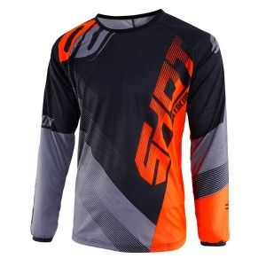 Shot Kinder Crossshirt Devo Ultimate Black/Neon Orange