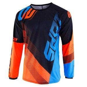 Shot Kinder Crossshirt Devo Ultimate Blue/Neon Orange