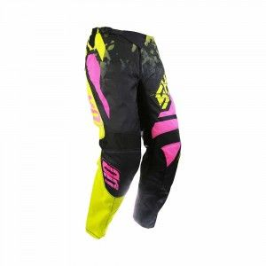 Shot Crossbroek Devo Squad Lime/Neon Pink
