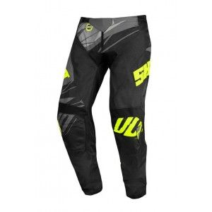 Shot Devo Ventury Crossbroek Dark Grey/Neon Yellow