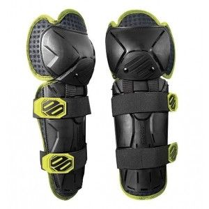 Shot Optimal Knie Beschermers Black/Fluor Yellow